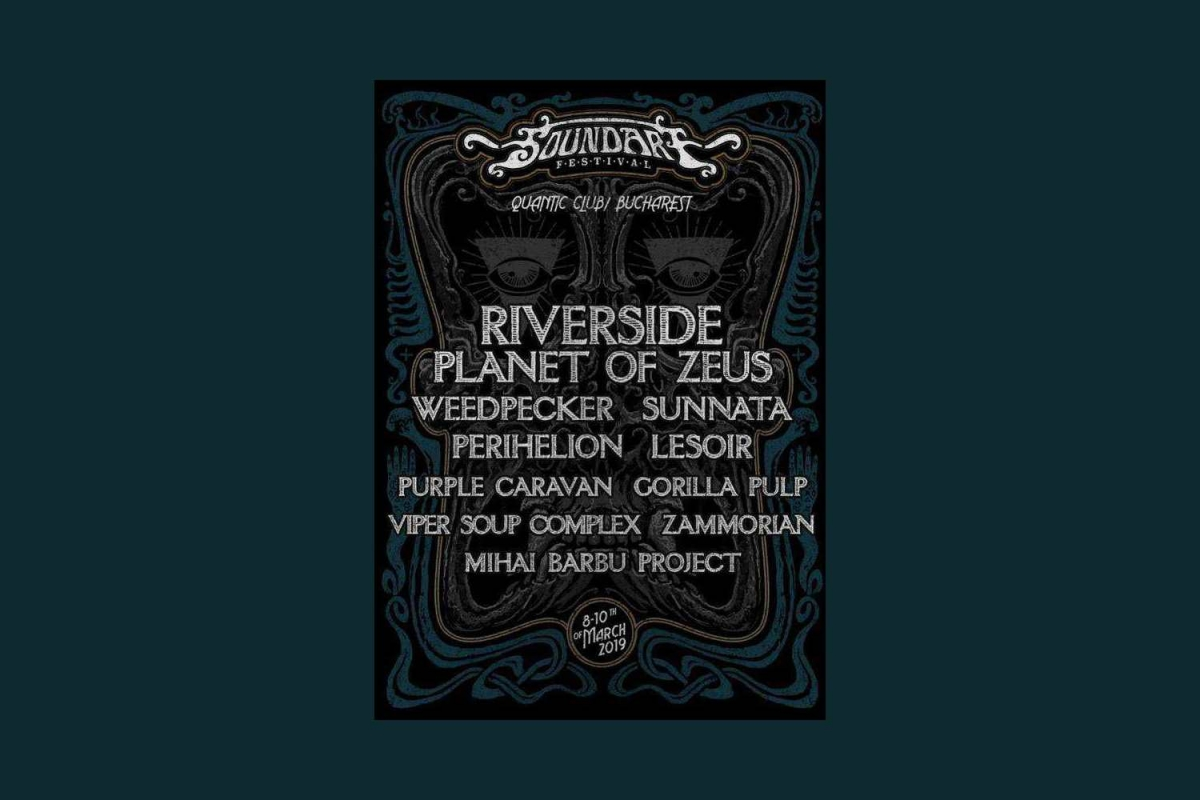 Riverside, Planet of Zeus and many more @ Soundart Festival - Bucharest, 8-10/3/2019