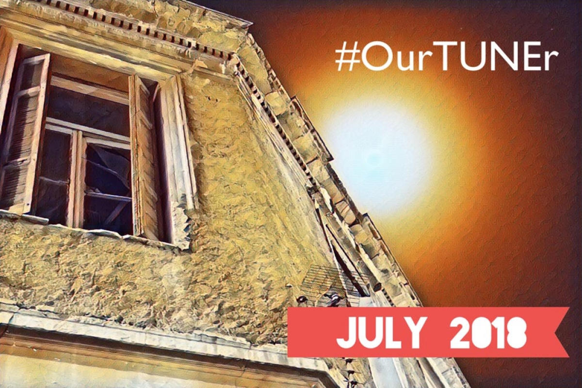 #Our TUNEr - July 2018