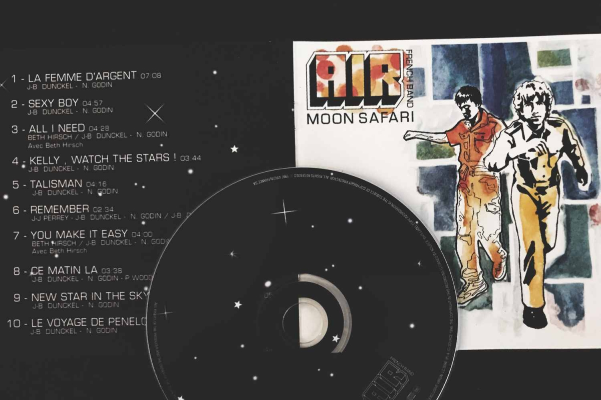 Air - Moon Safari (Virgin, 1998)