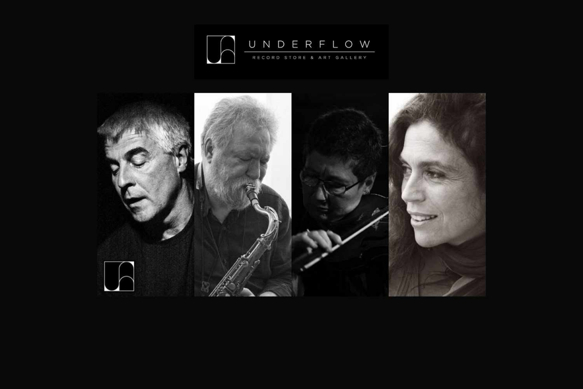 Maya Homburger, Barry Guy, Evan Parker & Savina Yannatou στο Underflow, την Παρασκευή 19/4