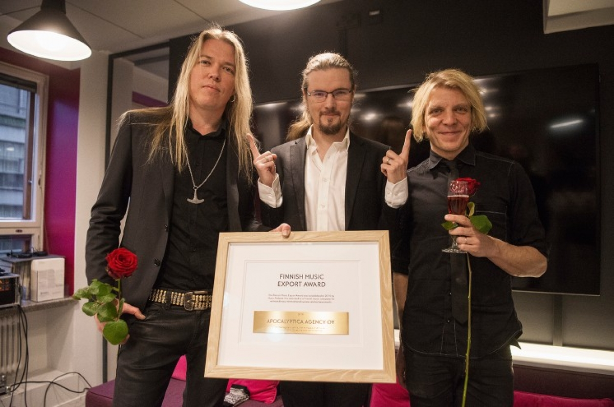 Στους Apocalyptica το φετινό Finnish Music Export Award
