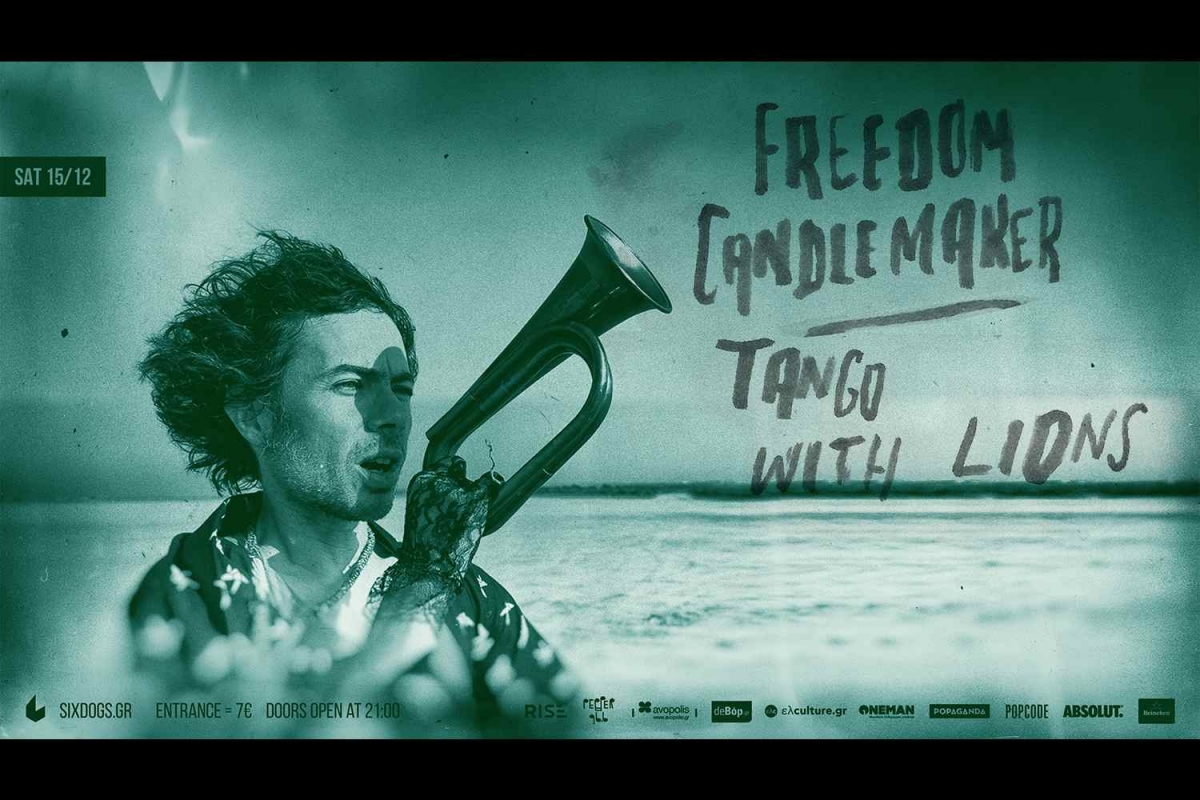 Freedom Candlemaker - Πρώτο band show! 15/12/2018 στο six d.o.g.s