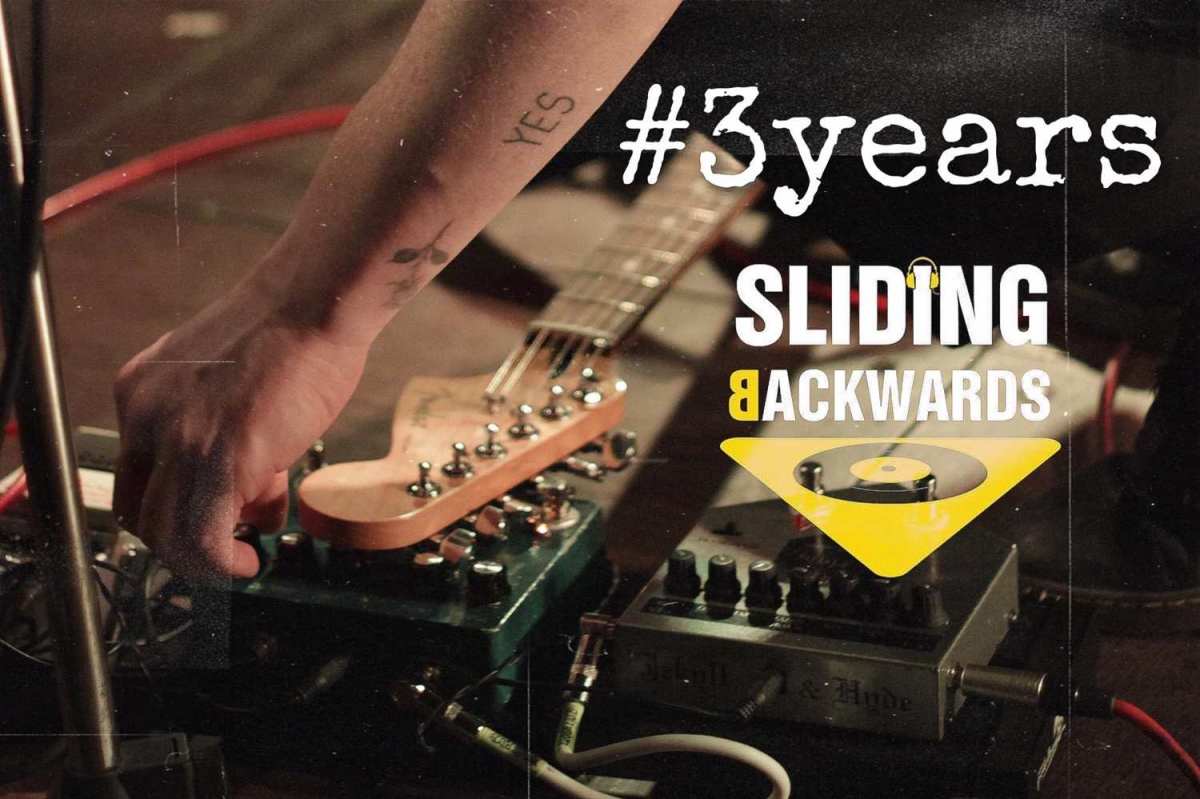 3 Years Sliding Backwards!