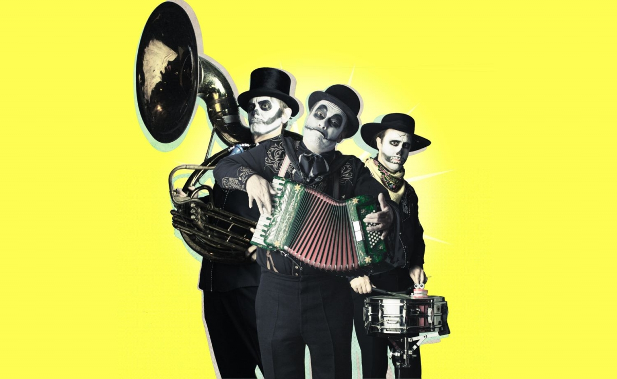 "The Tiger Lillies  ""The Crack οf Doom and other quarantine tales"""