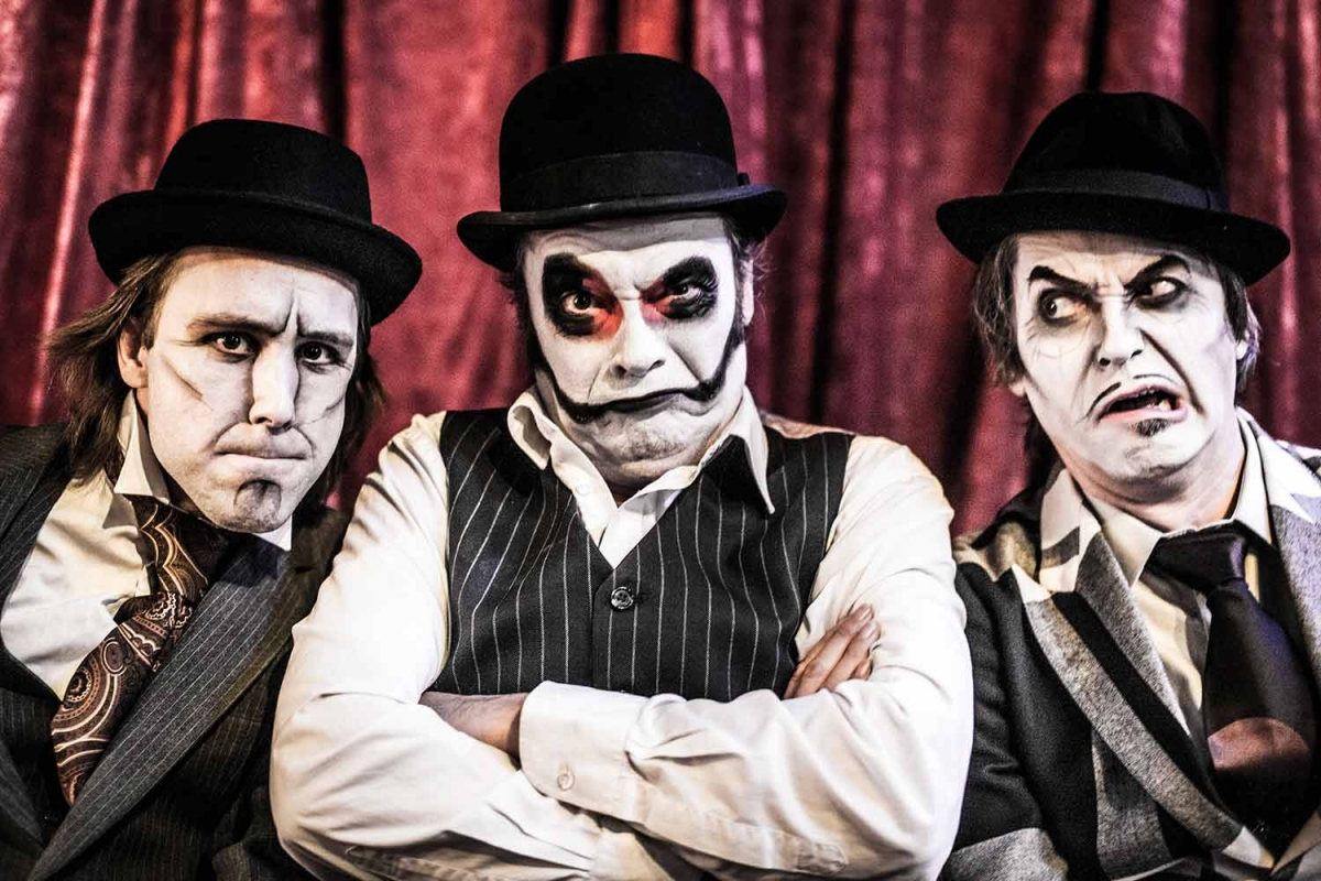 THE TIGER LILLIES live from Athens! On-line concert from a secret place!